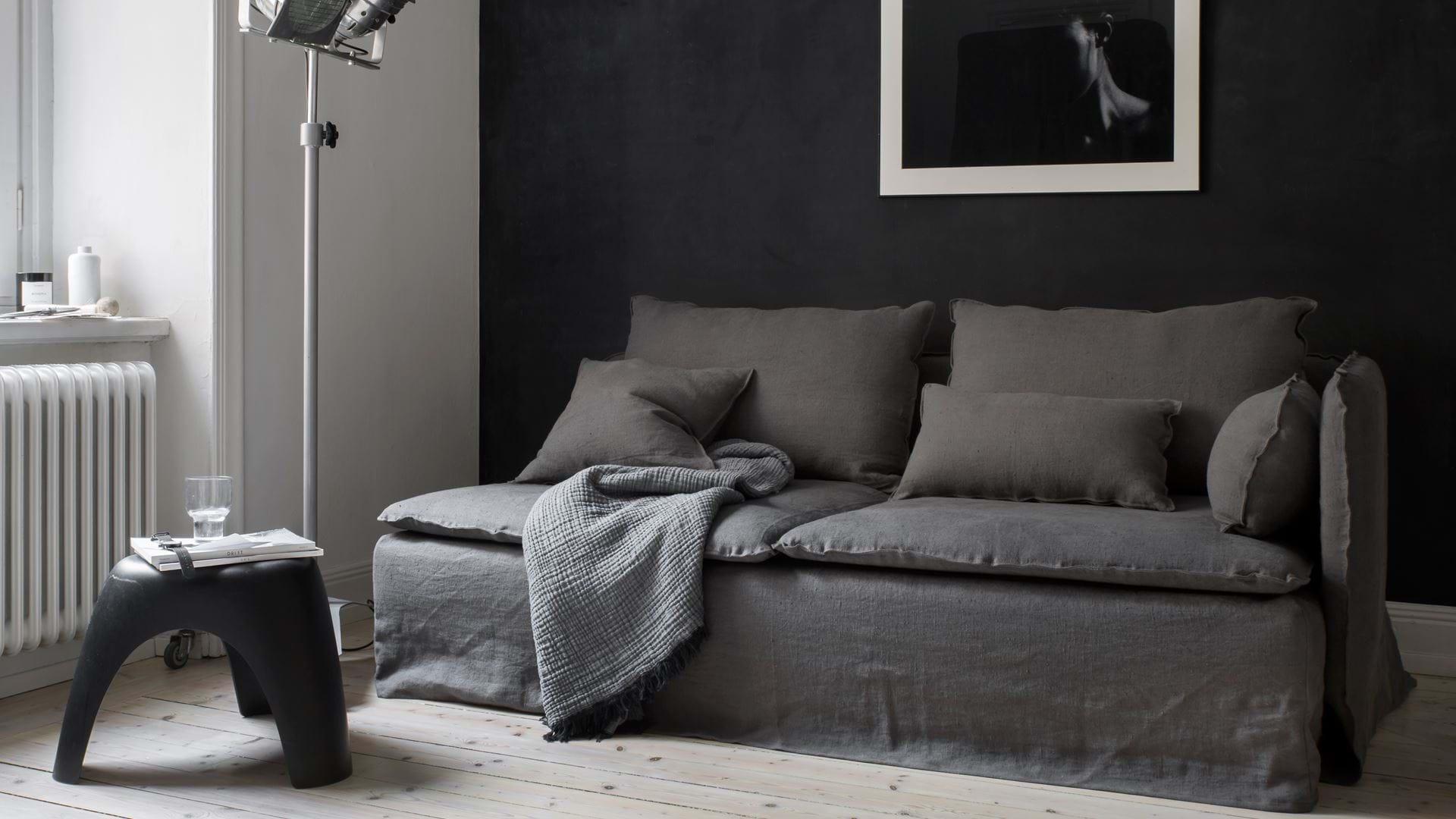 3 Seater Sofa Cover Loose Fit Bemz