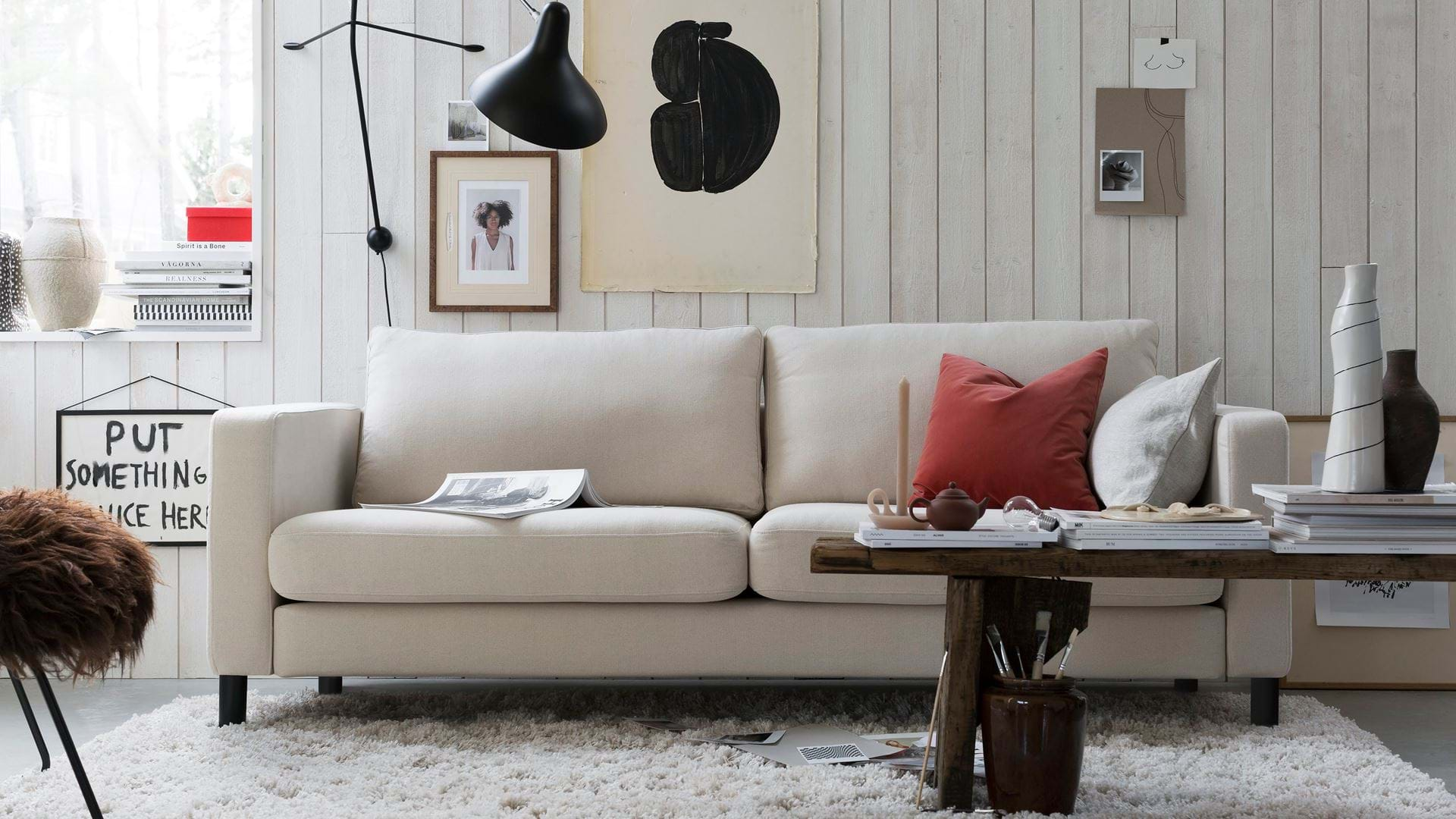 Outstanding Ikea Karlstad 3 Seater Sofa Cover Bemz Bemz Cjindustries Chair Design For Home Cjindustriesco