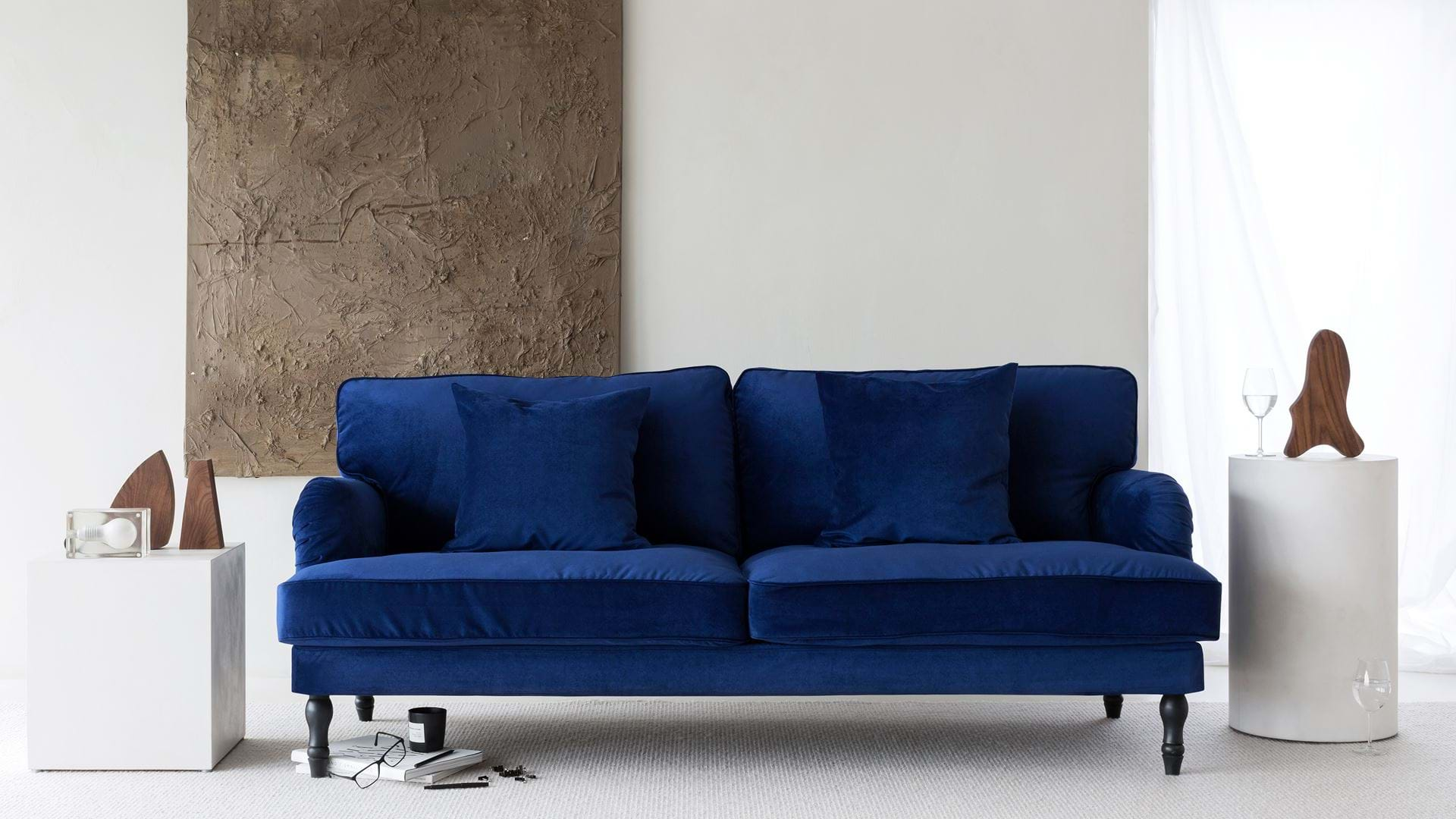 Bezug für 3er-Sofa Stocksund | Bemz