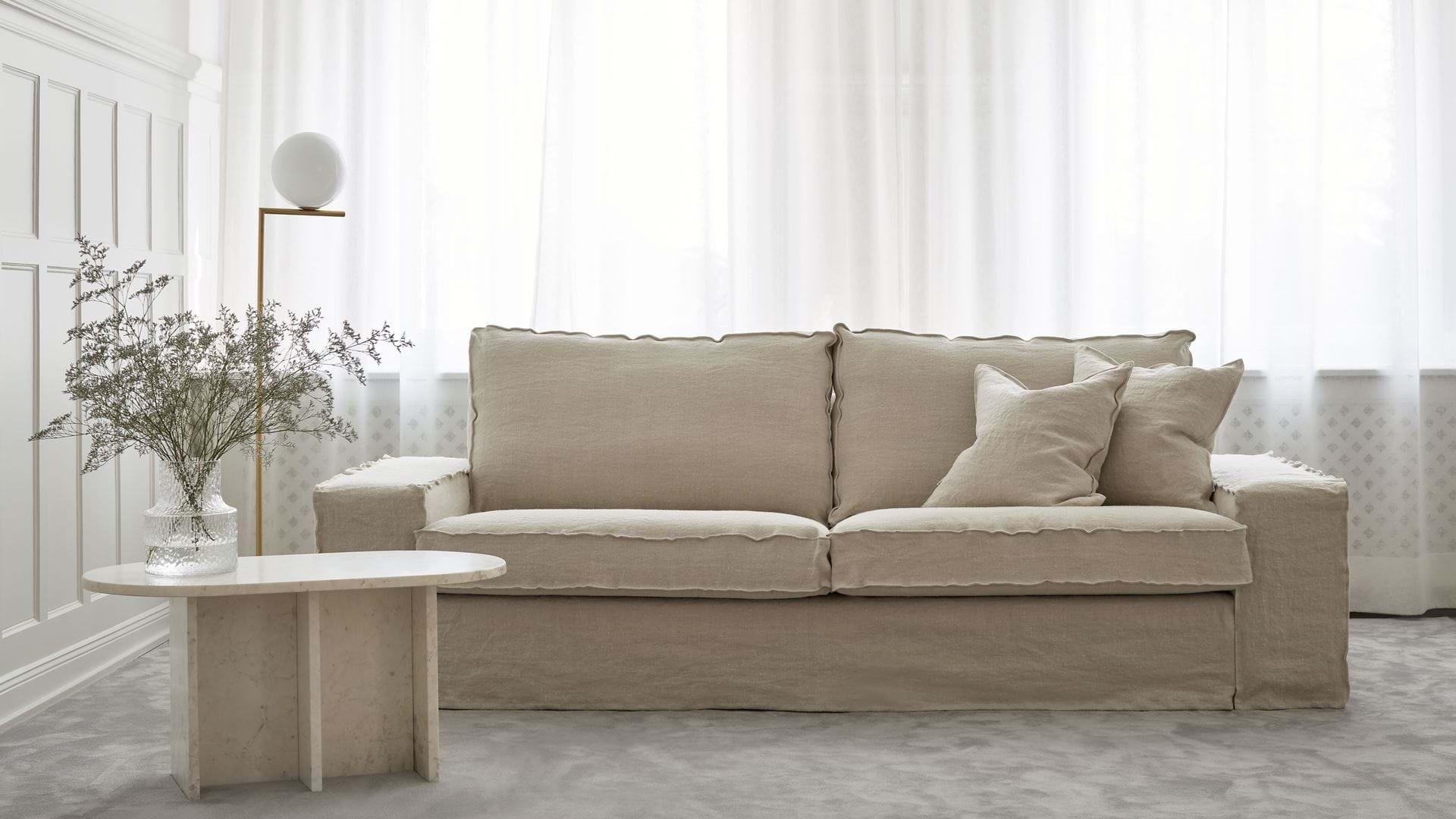 Ikea Kivik 3 Seater Sofa Cover Loose