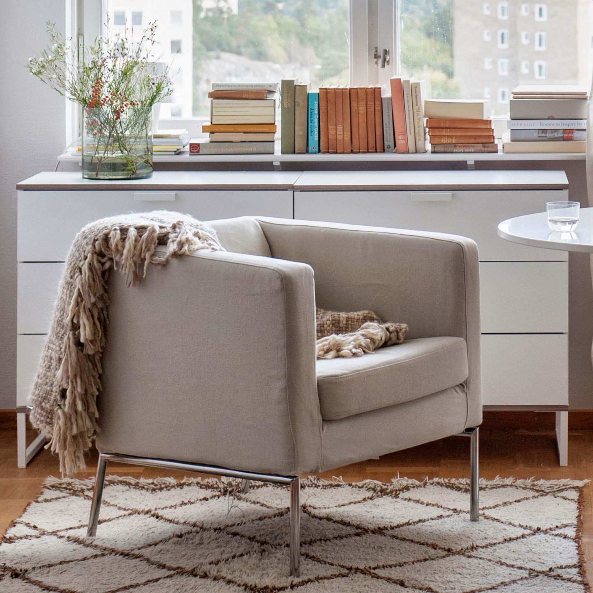 Stupendous Ikea Klappsta Armchair Cover Bemz Bemz Inzonedesignstudio Interior Chair Design Inzonedesignstudiocom