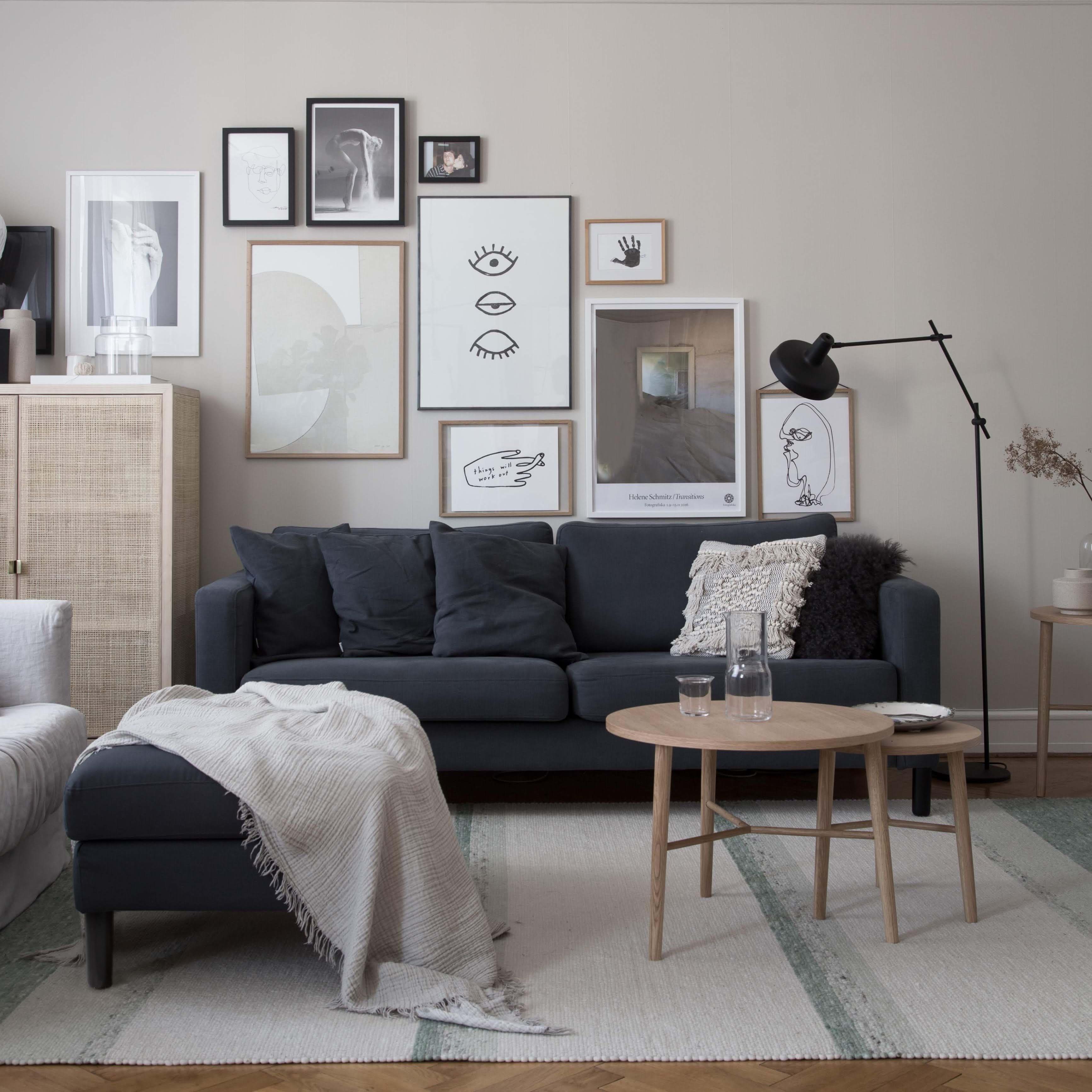 Divani In Rattan Ikea.My Scandinavian Home S Ikea Karlstad Sofa Style Makeover Bemz