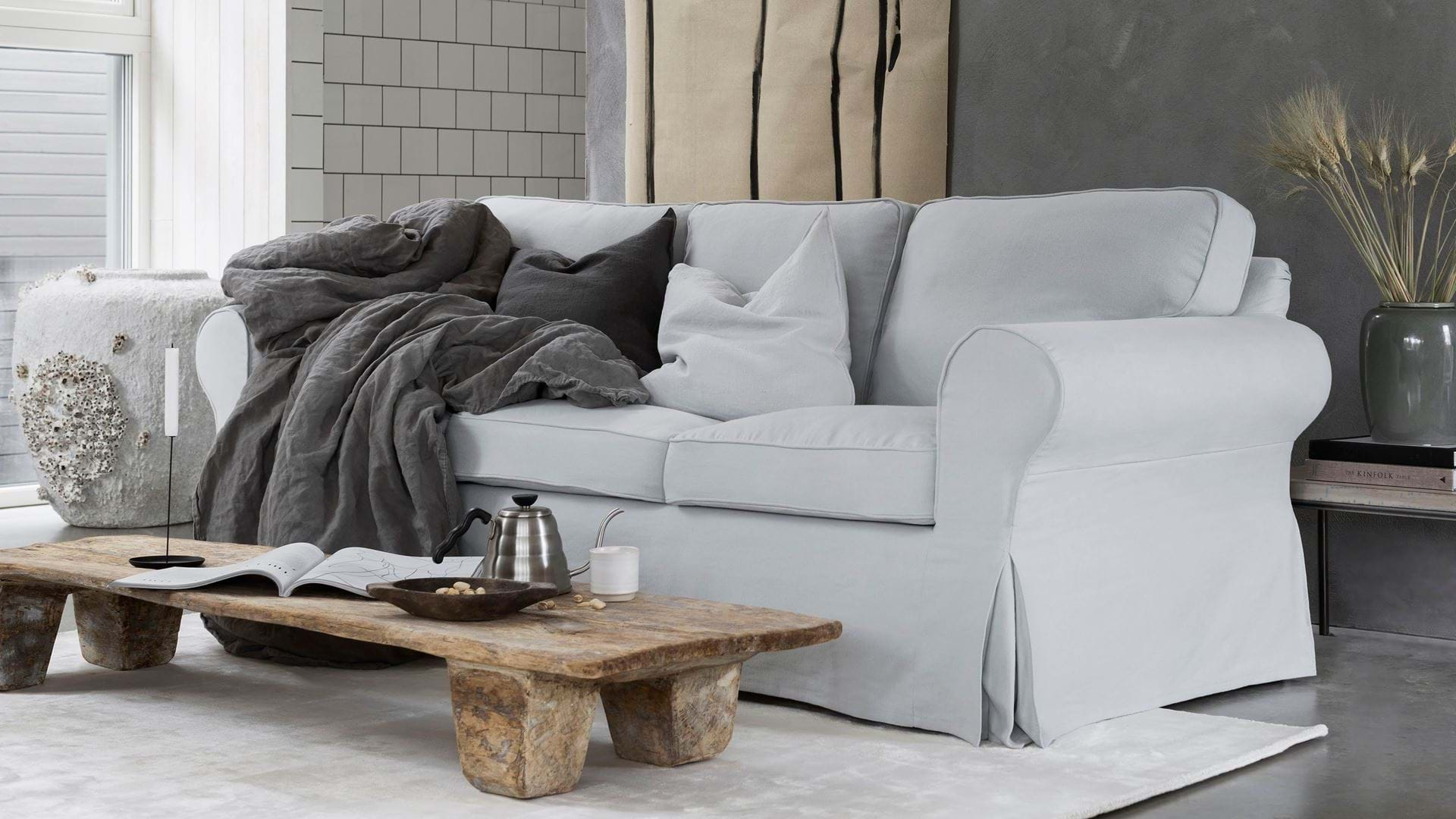 Ikea Rp 3 Seater Sofa Cover With