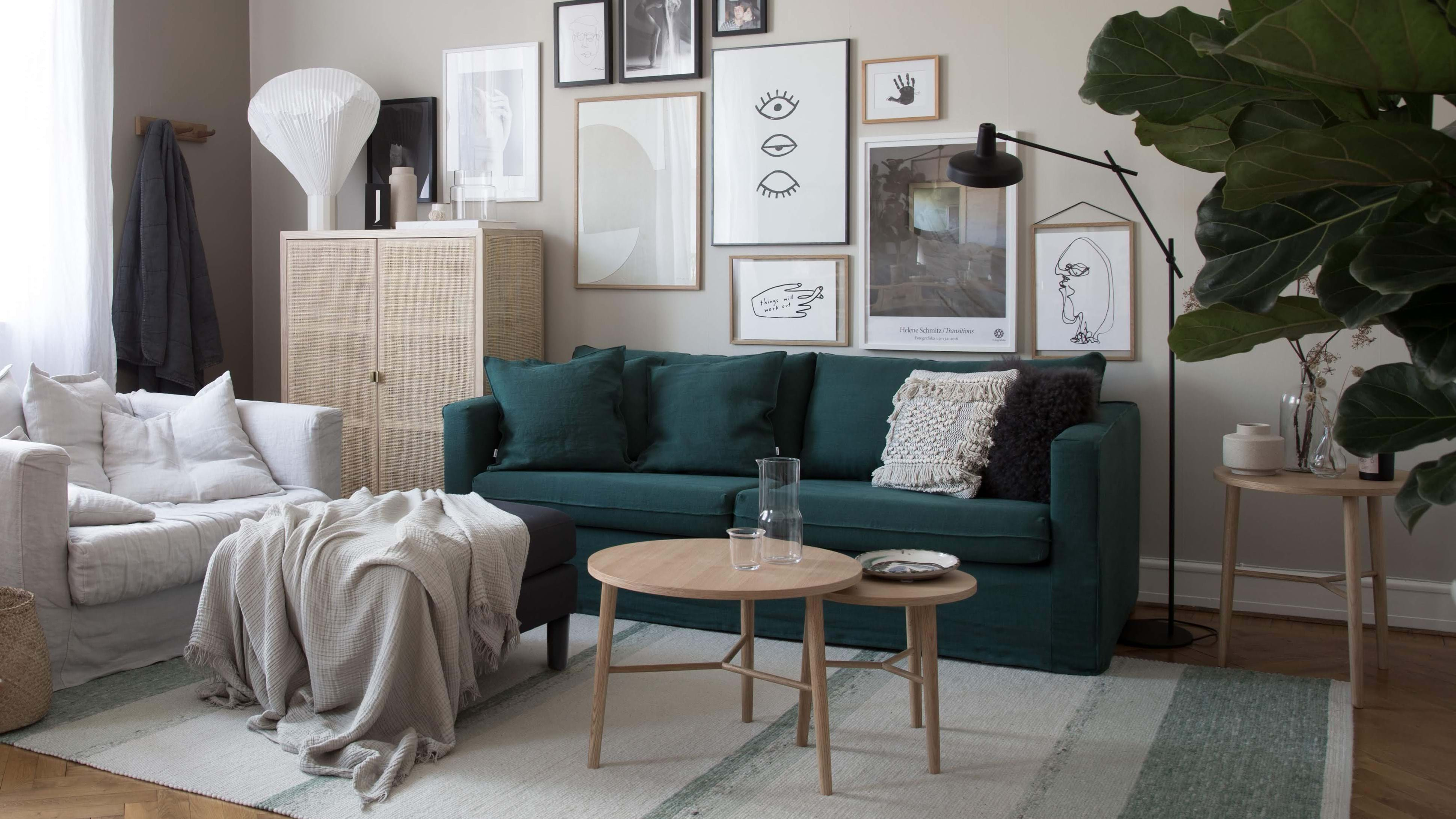 Divano In Rattan Ikea.My Scandinavian Home S Ikea Karlstad Sofa Style Makeover Bemz