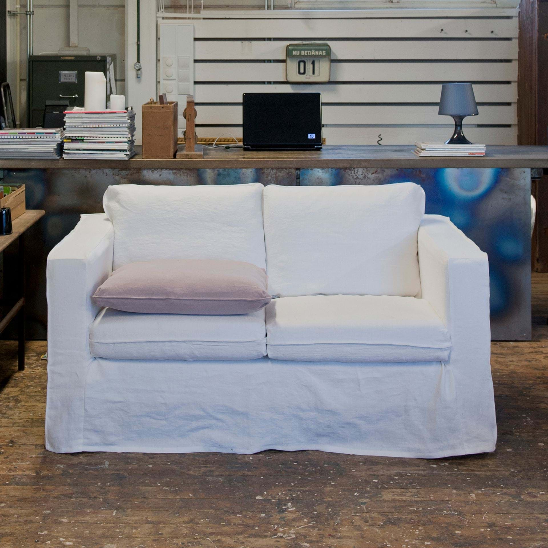 Fine Ikea Karlanda 2 Seater Sofa Cover Loose Fit Bemz Squirreltailoven Fun Painted Chair Ideas Images Squirreltailovenorg