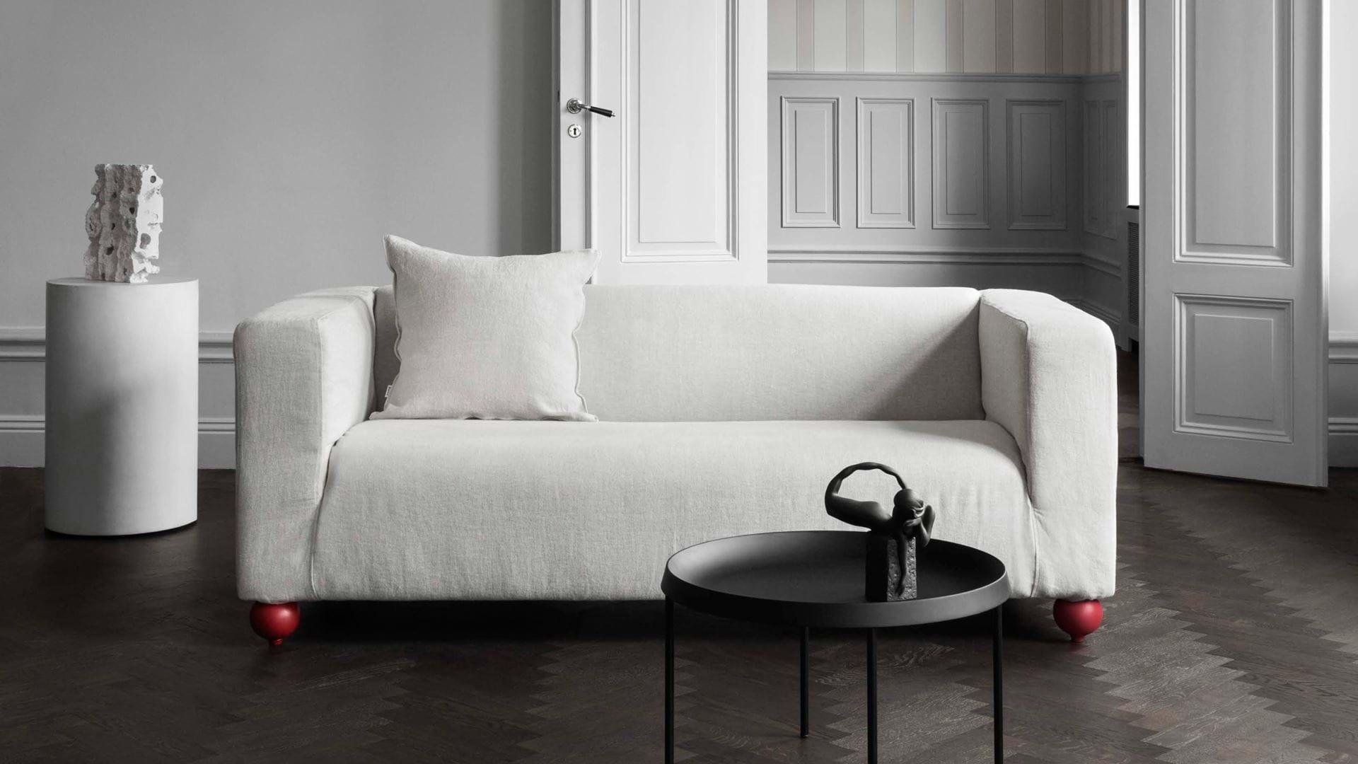 Surprising Ikea Klippan 2 Seater Sofa Cover Bemz Bemz Bralicious Painted Fabric Chair Ideas Braliciousco