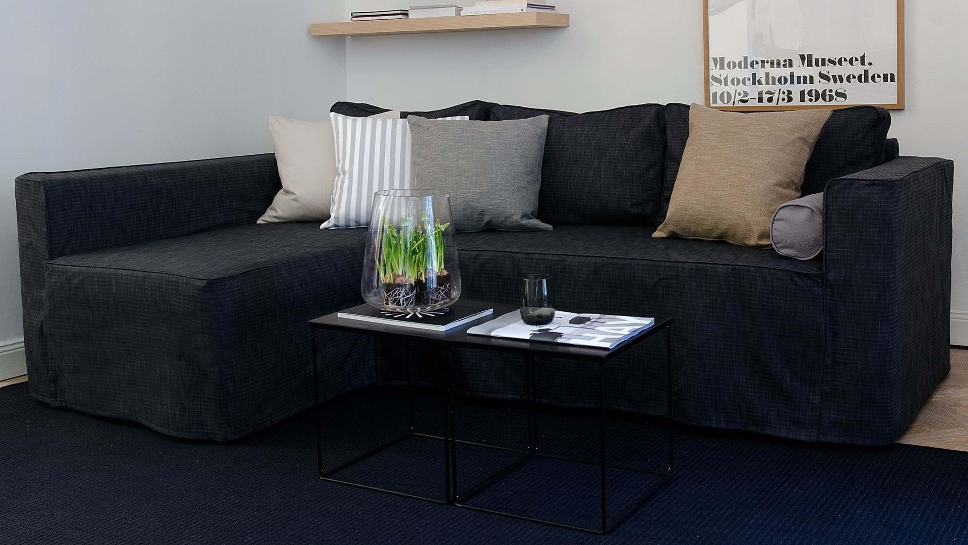 Ikea Månstad Corner Sofa Bed With