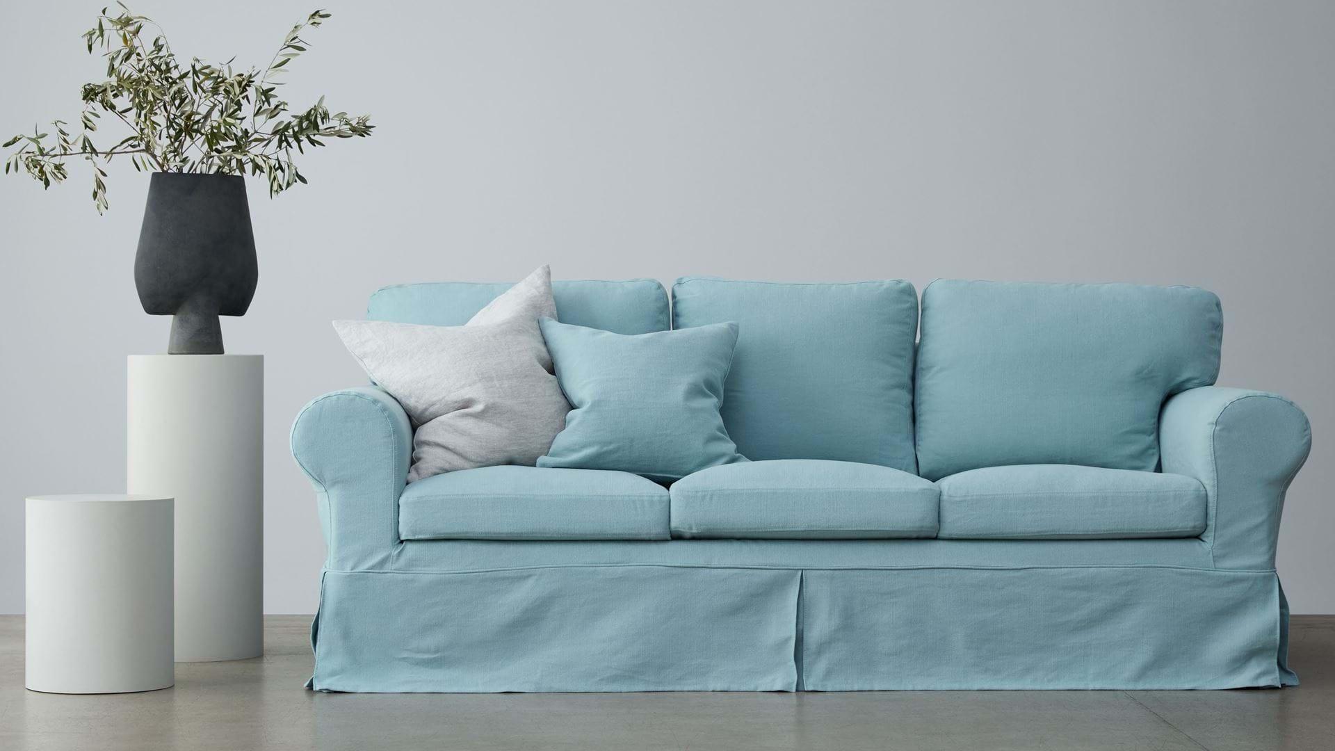 Ikea Ektorp 3 Seater Sofa Cover Loose Fit Bemz