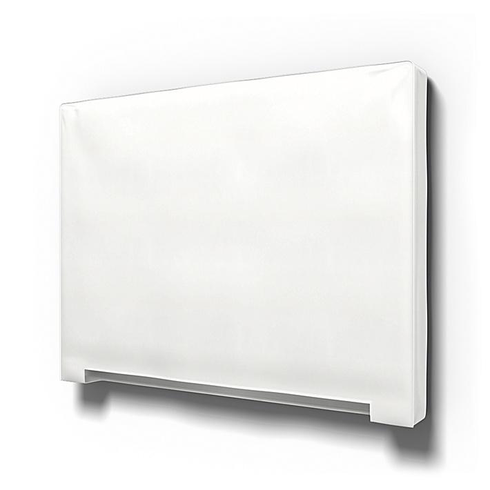 IKEA - Trekk til Abelvär hodegavl, Absolute White, Bomull - Bemz