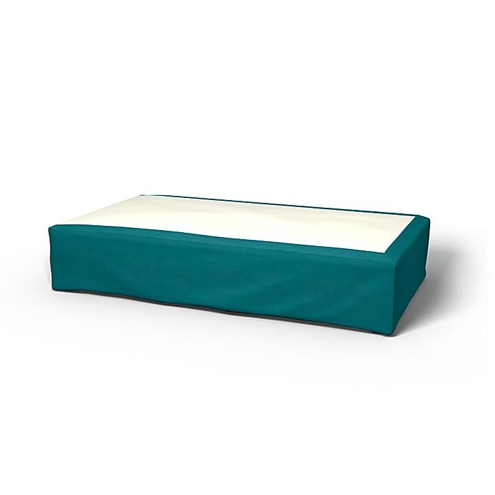 Sängkappa, Teal Blue, Sammet - Bemz