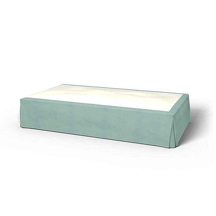 Sängkappa, Mineral Blue, Linne - Bemz