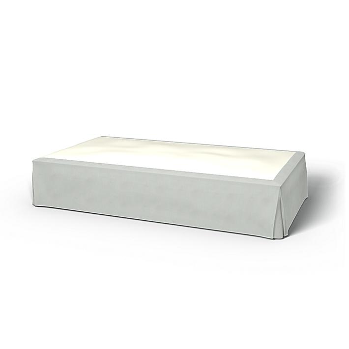 Sängkappa, Silver Grey, Linne - Bemz