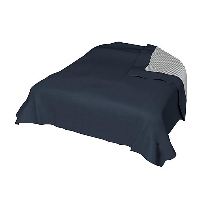 Sängöverkast, Ombre Blue, Bomull - Bemz