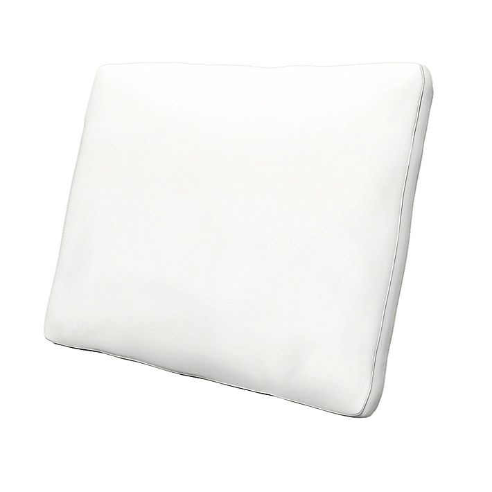 IKEA - Kuddfodral Karlstad 58x48x5 cm (23x19x2in), Absolute White, Bomull - Bemz