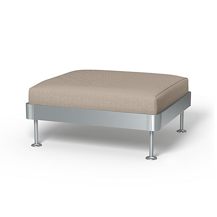 IKEA - Trekk til Delaktig 1-seters plattform, Sand Beige, Conscious - Bemz