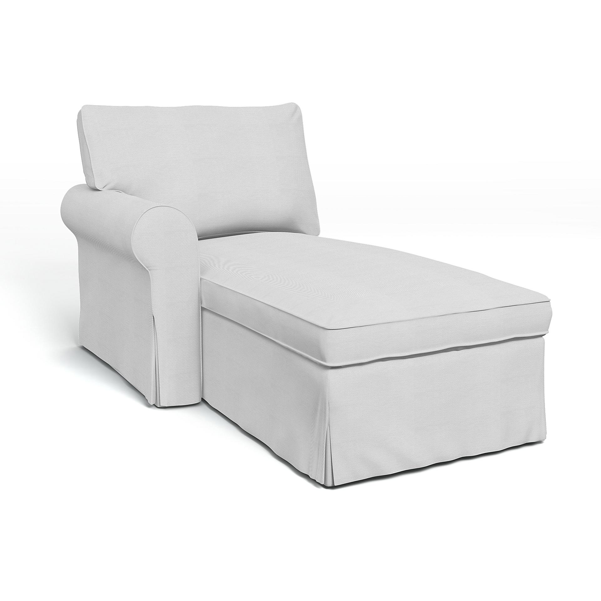 Ikea Ektorp Hoes Chaise Longue Met Biezen Links Bemz Bemz