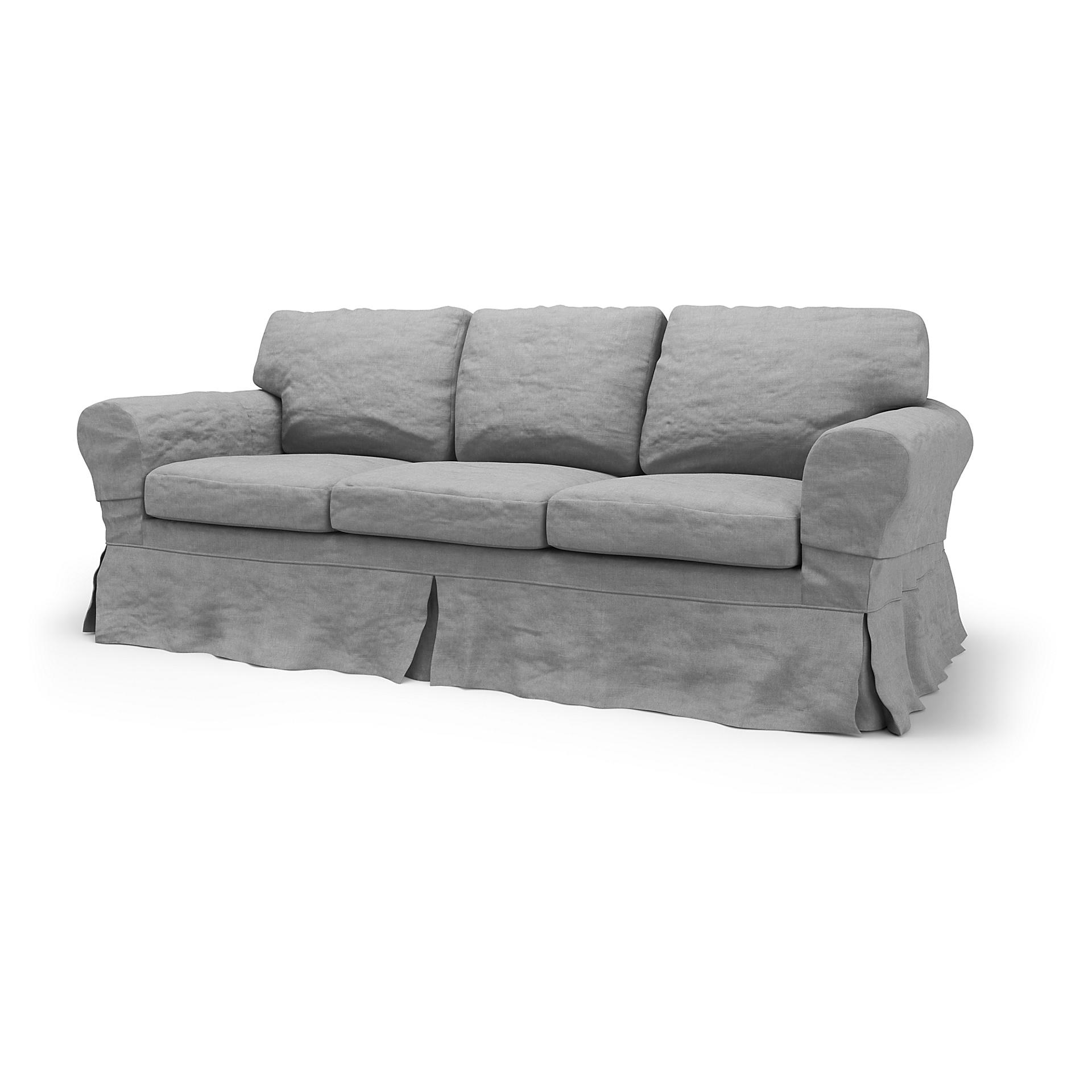 Ikea Ektorp 3 Seater Sofa Bed Cover Loose Fit Bemz