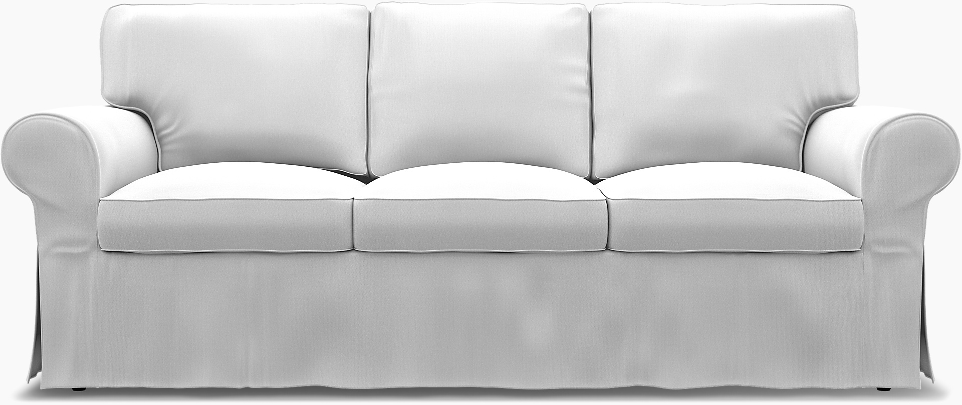 more photos 0ee7d 03914 IKEA Ektorp, 3 Seater sofa bed cover with piping - Bemz | Bemz