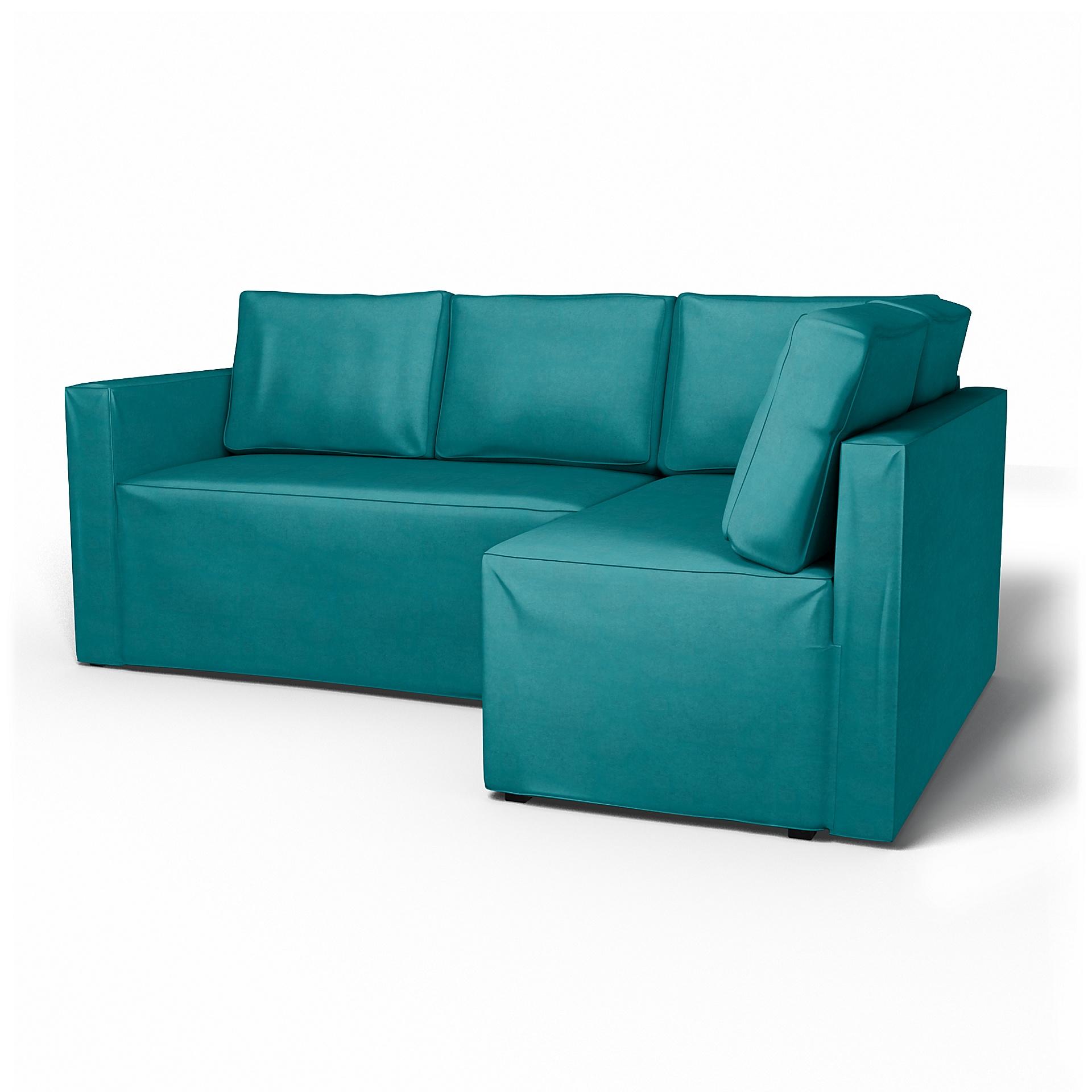 Divano Velluto Blu Ikea ikea fågelbo, divano letto angolare con contenitore, destra