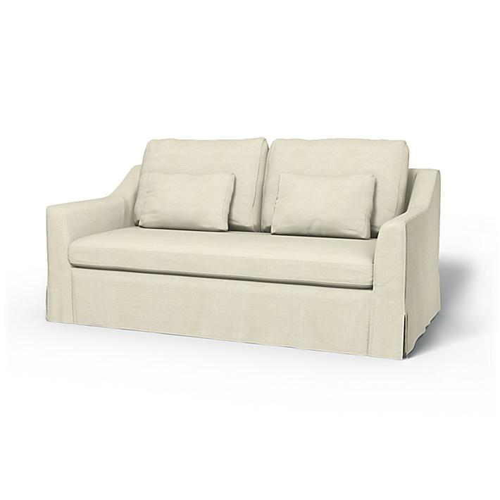 IKEA - Trekk til Färlöv 2-seters sovesofa, Sand Beige, Conscious - Bemz