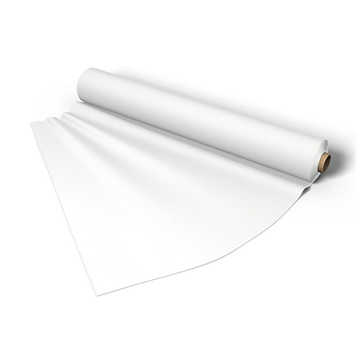 Stoff per meter, Absolute White, Lin - Bemz