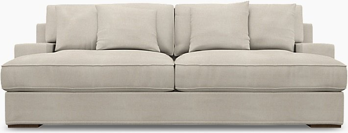 IKEA - Trekk til Göteborg 3-seters sofa, Unbleached, Lin - Bemz