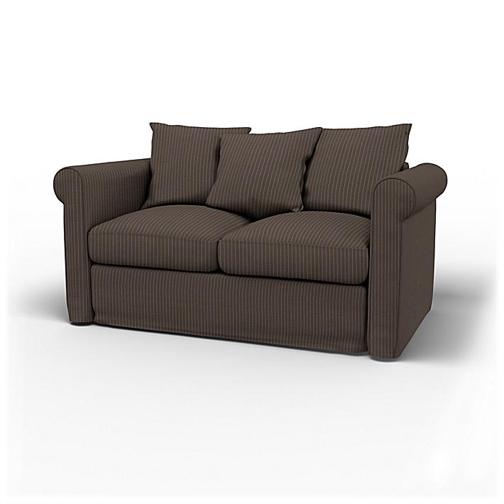 IKEA - Överdrag till Grönlid 2-sitssoffa, Taupe, Conscious - Bemz