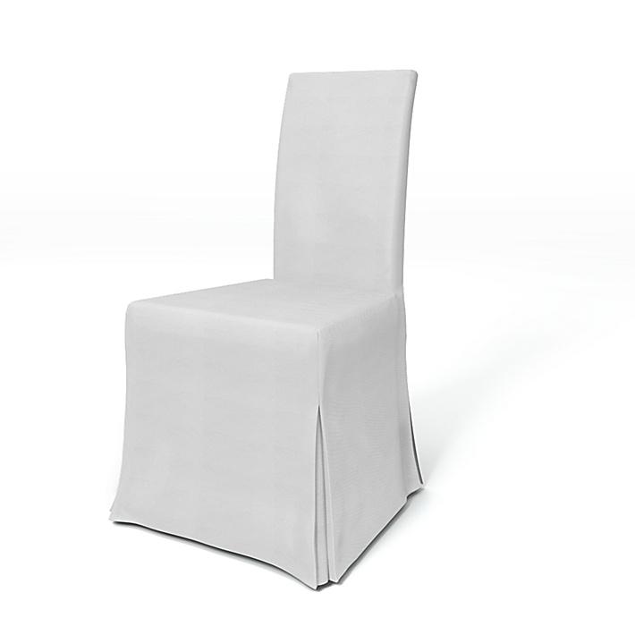 IKEA - Bezug für Stuhl Harry, Silver Grey, Baumwolle - Bemz