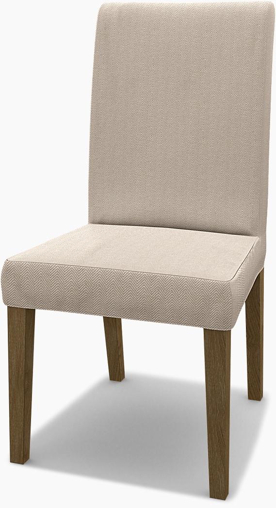 IKEA - Överdrag till Henriksdal stol (standard modell), Sand Beige, Conscious - Bemz
