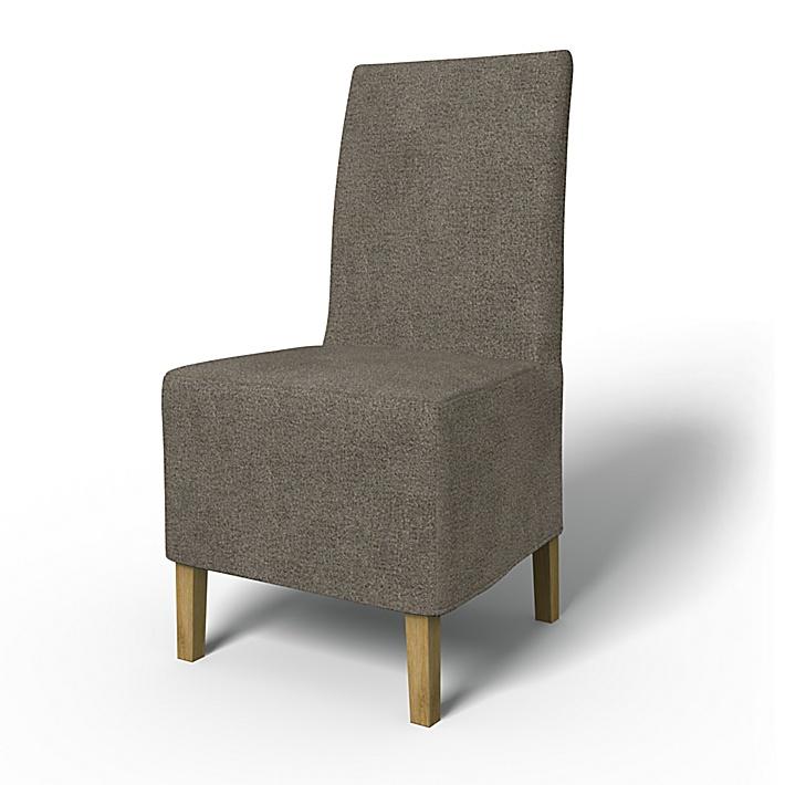 IKEA - Överdrag till Henriksdal stol Medellång kappa (standard modell), Taupe, Wool-look - Bemz