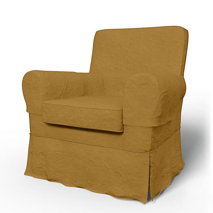 IKEA - Bezug für Sessel Jennylund, Honey, Samt - Bemz