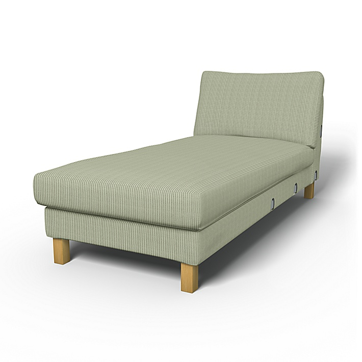 Add-on Unit Cover Replace Cover Custom Made Cover Fits IKEA Karlstad Chaise Lounge