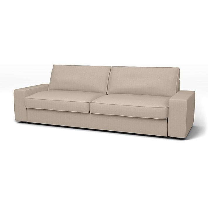 IKEA - Trekk til Kivik sovesofa, Sand Beige, Conscious - Bemz