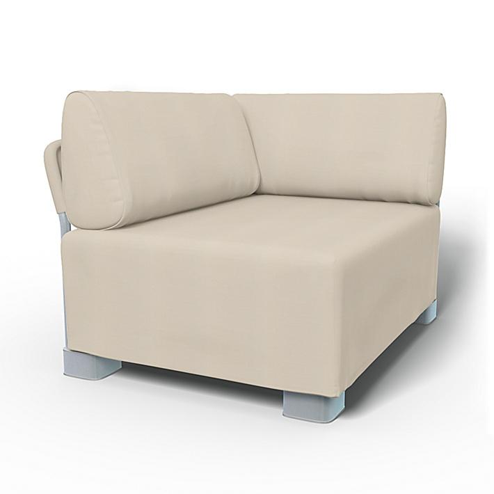 IKEA - Bezug für Eckelement Mysinge, Sand Beige, Baumwolle - Bemz