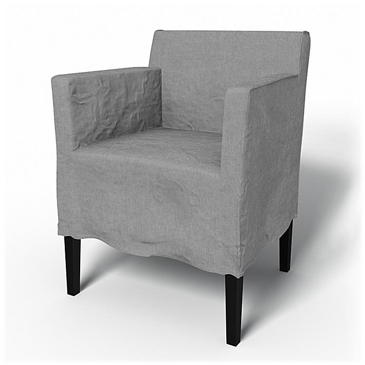 IKEA Nils, Tapicería para sillón falda media Loose Fit Urban