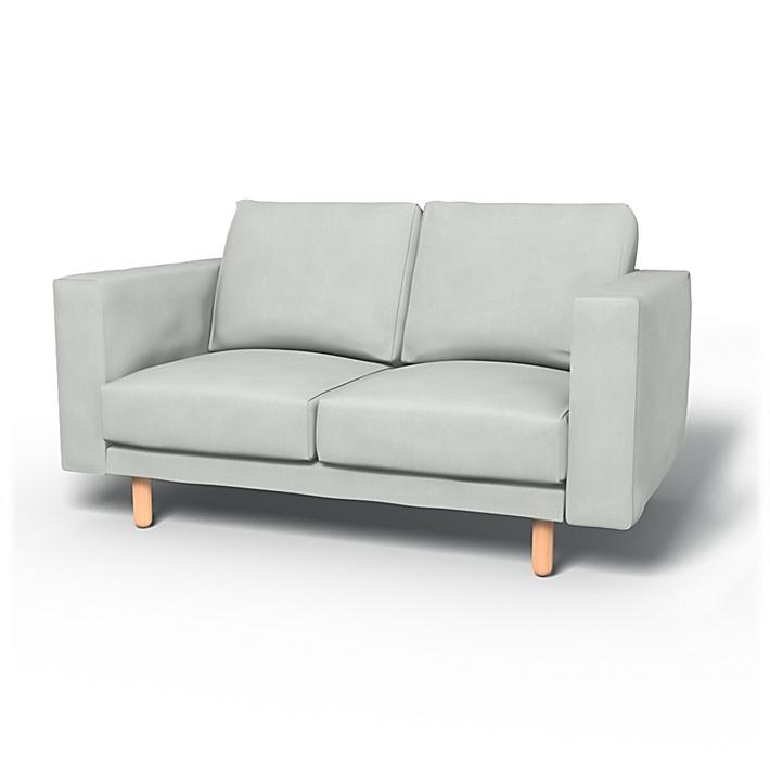 2 Seat Sofa Ikea NORSBORG Loveseat SEALED! Cover Slipcover EDUM DARK BLUE New