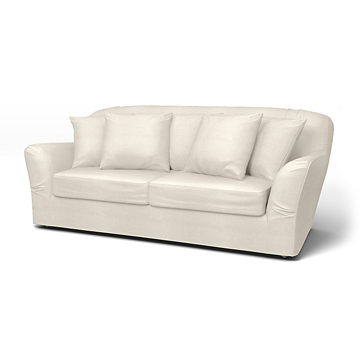 IKEA - Överdrag till Tomelilla bäddsoffa (standard modell), Unbleached, Linne - Bemz