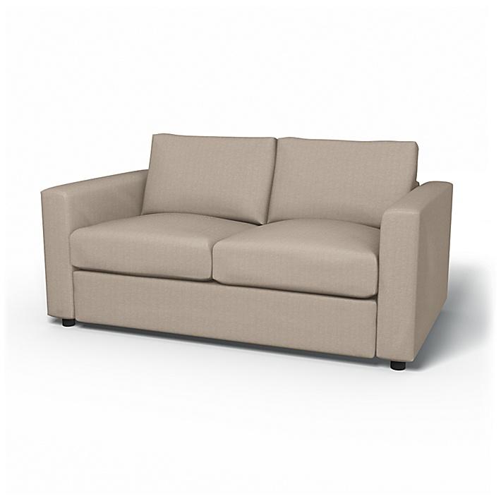 IKEA - Överdrag till Vimle 2-sitssoffa, Sand Beige, Conscious - Bemz