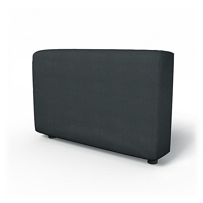 IKEA - Armlenetrekk til Vimle, Graphite Grey, Lin - Bemz